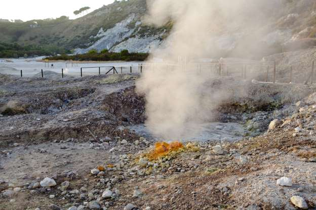 Three Italians die after falling into hole at volcano near Naples
