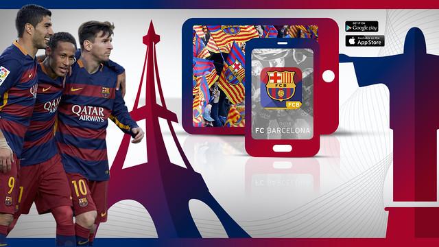 El FC Barcelona lanza las versiones en francés y portugués de su app oficial