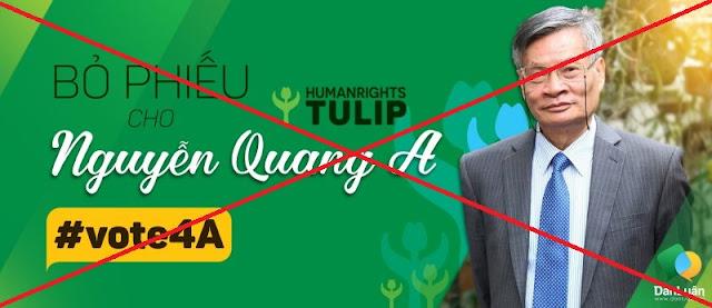 Nguyễn Quang A lại chơi trò tung hứng