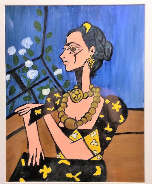 Frida Kahlo: Picasso Style  Oil on Board, c. 1980  F. Lennox Campello