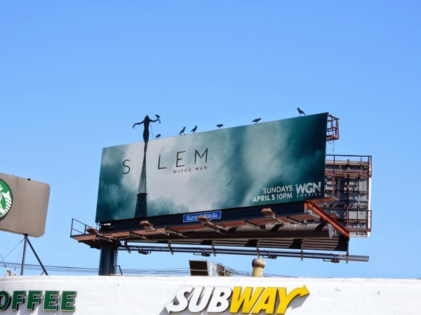 Special Salem season 2 crow billboard