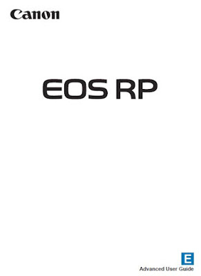 Canon EOS RP Camera PDF User Guide / Manual Download