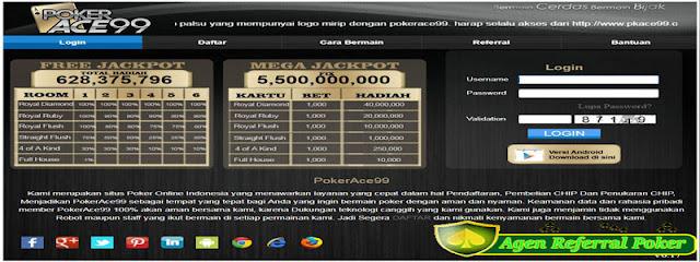Jumlah deposit dan withdrawnya di pokerace99 relatif terjangkau