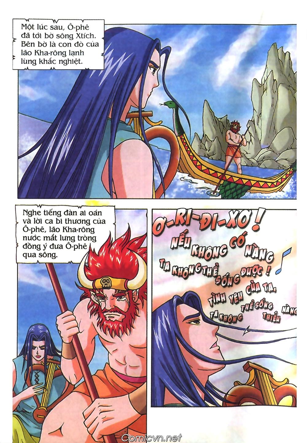 Thần Thoại Hy Lạp Màu - Chapter 40: Chuyện tình buồn của chàng Ô phê - Pic 22