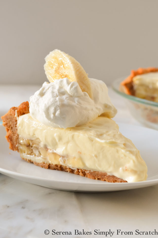 Banana Pudding Cheesecake from serenabakessimplyfromscratch.com