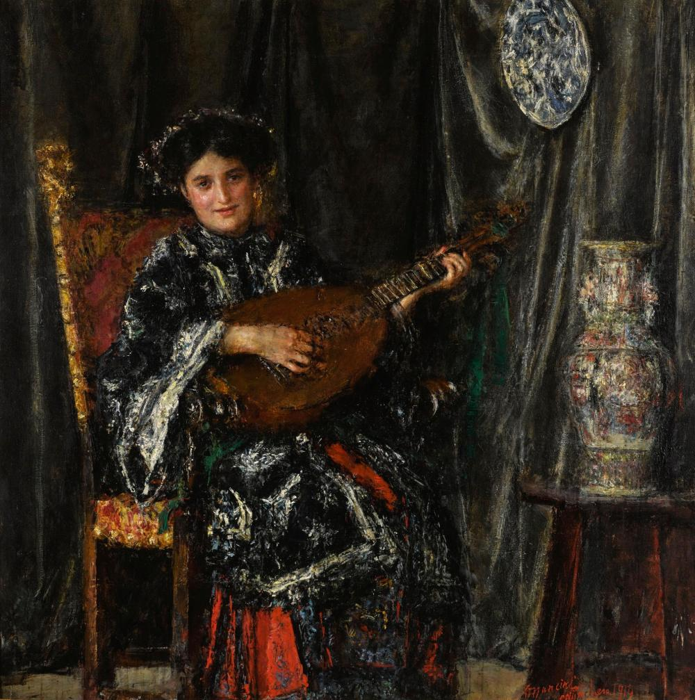 Le Prince Lointain  Antonio Mancini (1852-1930) e77b675f52
