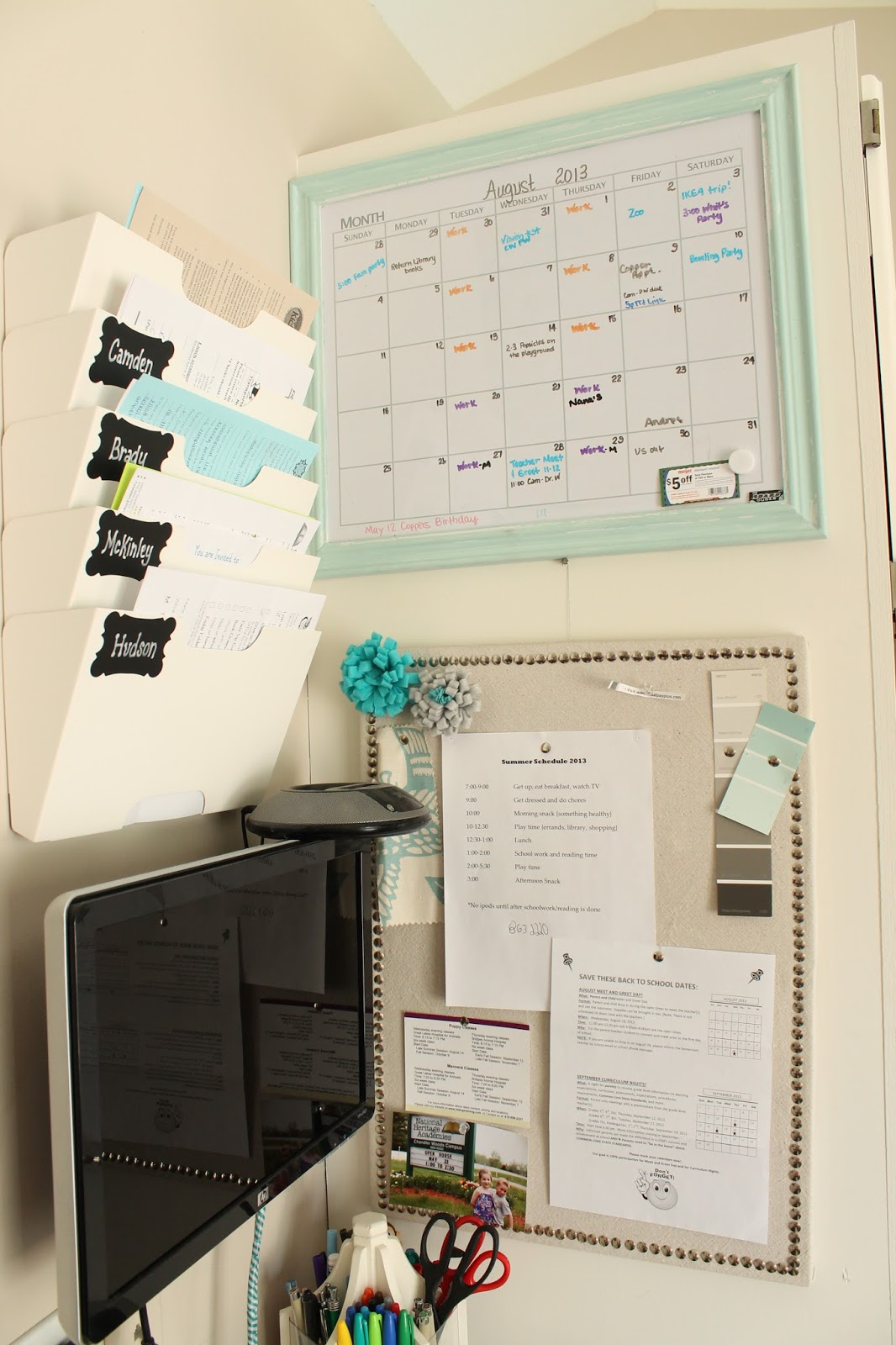 Homey Home Design Back To School Organization Part 1