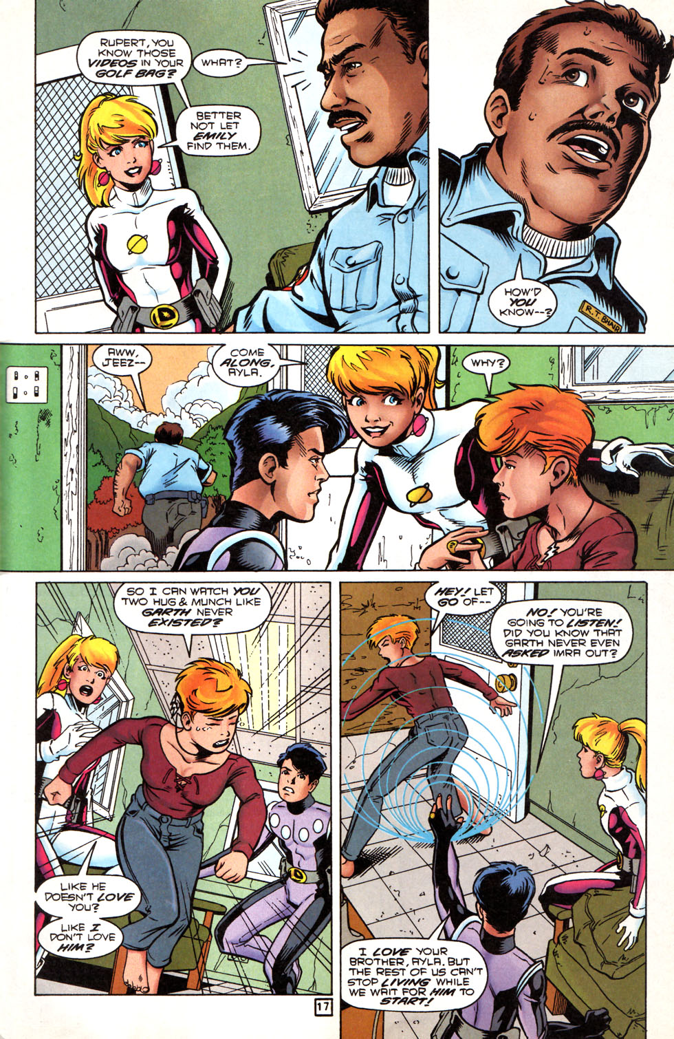 Legion of Super-Heroes (1989) 89 Page 16