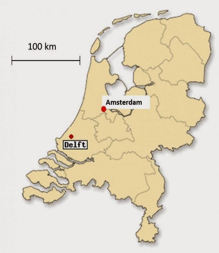 mapa holanda delft irsederasmus: Interview Delft/Holland mapa holanda delft