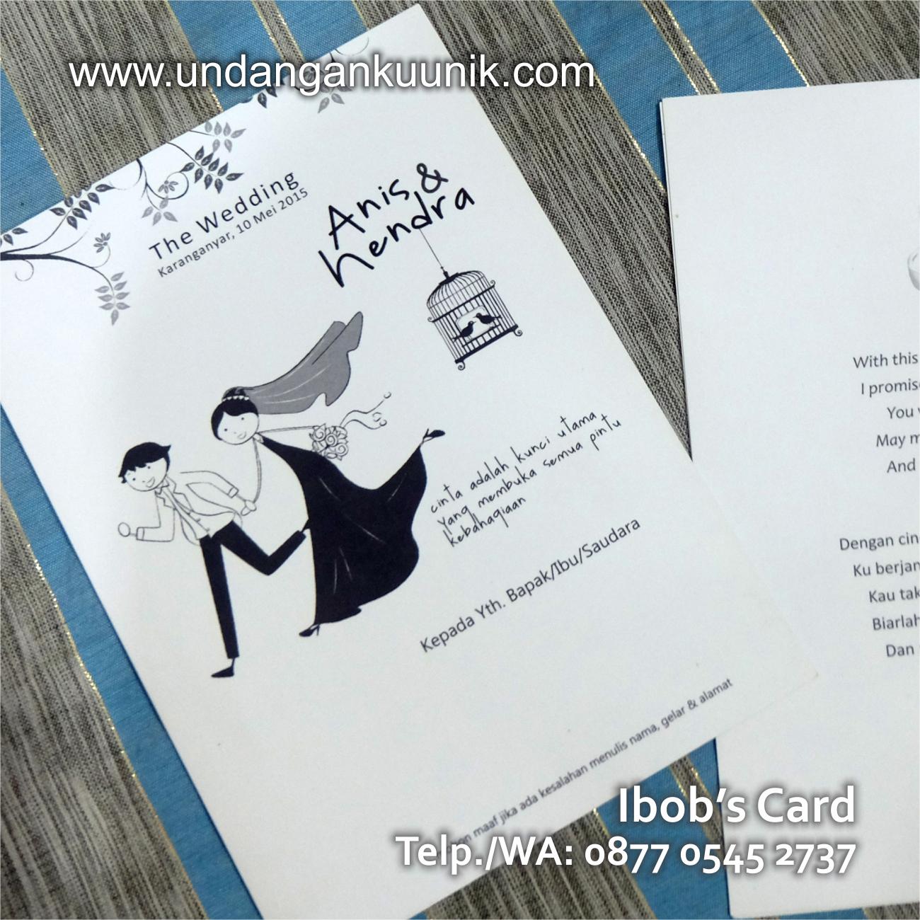 Undangan Nikah Unik Lucu Jogja Murah Hardcover Softcover Simpel