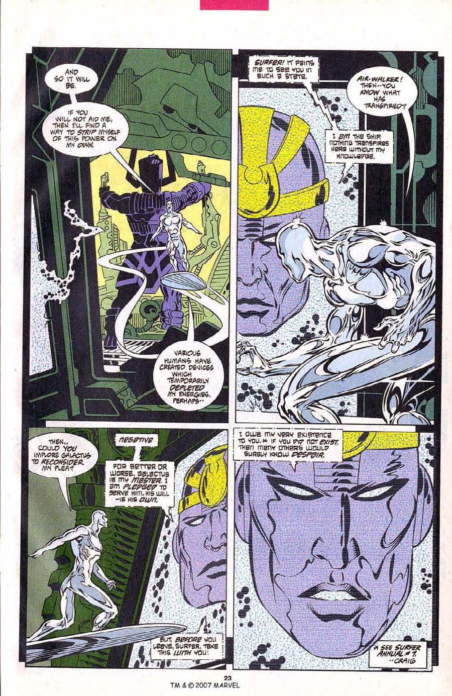 Read online Silver Surfer (1987) comic -  Issue #102 - 25