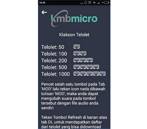 Download Aplikasi dan Ringtone Klakson Telolet Bus Di Android