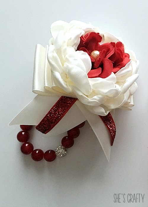 DIY Corsage for Prom or Mother's Day