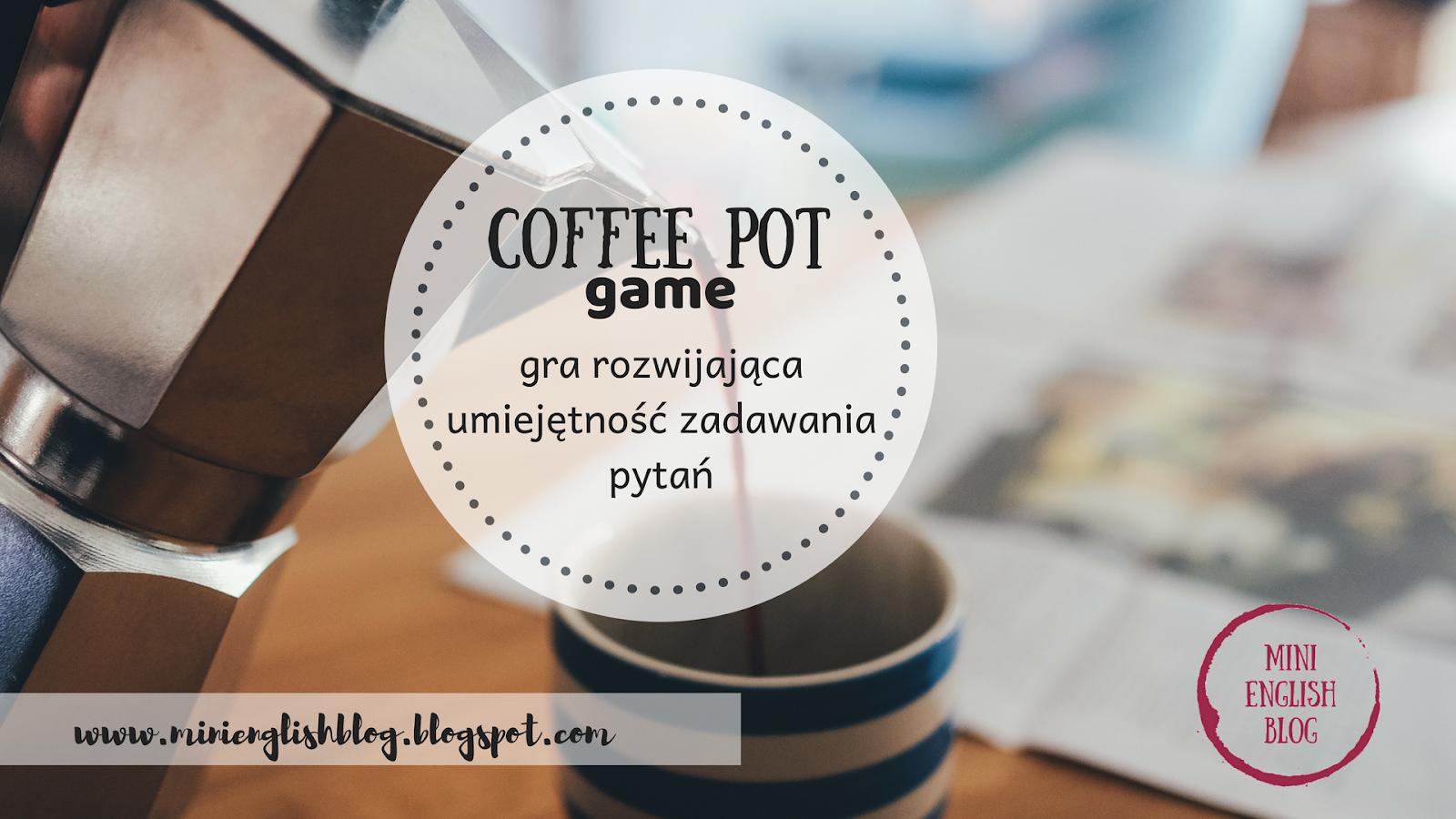 Z cyklu Lodołamacze. Coffee pot game