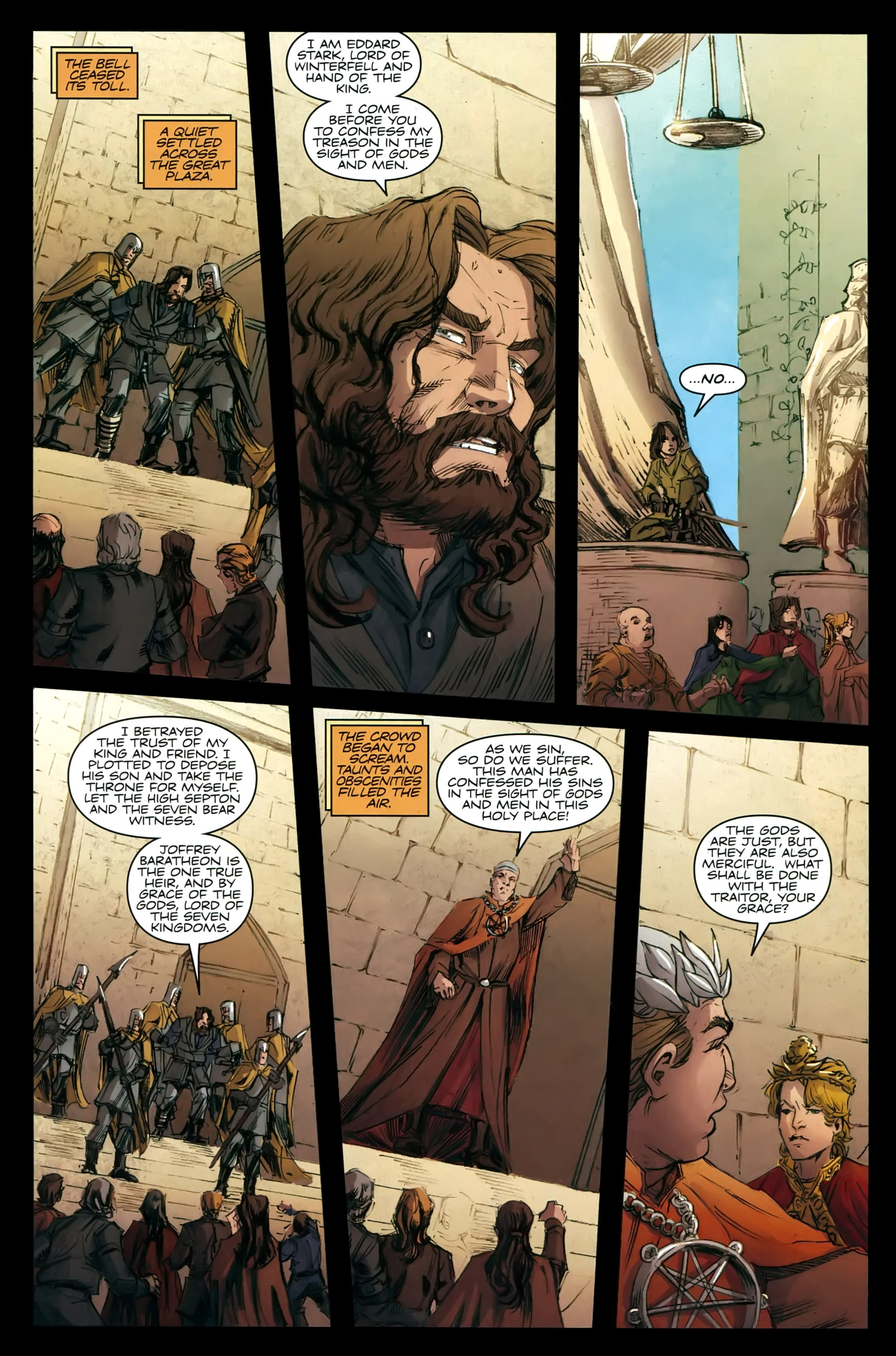 Read online A Game Of Thrones comic -  Issue #21 - 27