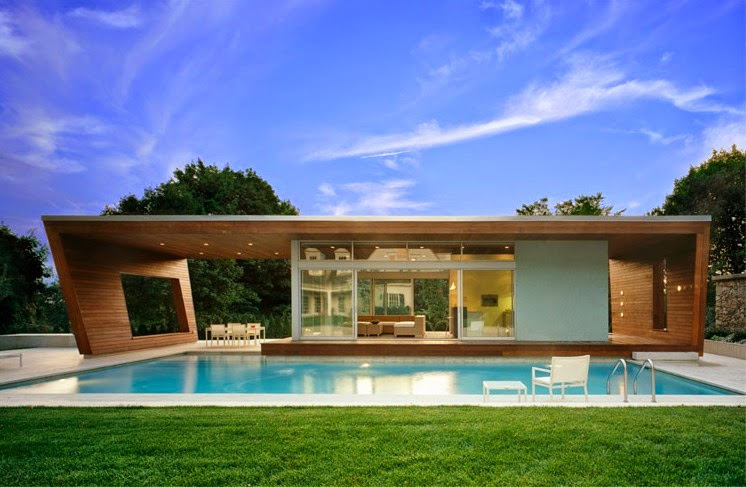 Beautiful Small Modern House Plans Flat Roof with Pools ...