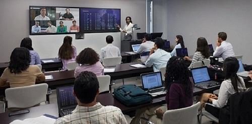 Hội nghị truyền hình Polycom hỗ trợ học từ xa