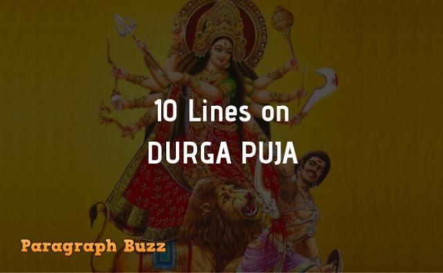 10 Lines on Durga Puja