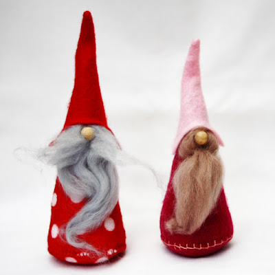 Ralph & Margaret Cornish Gnomes
