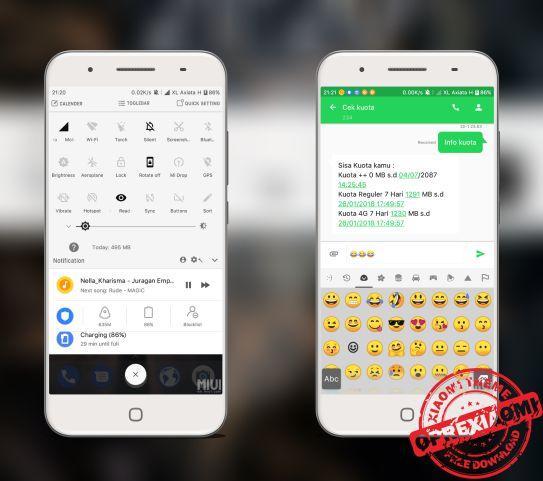 Download Tema Xiaomi Android Oreo Mtz Dan Buat Xiaomi Kamu Mirip Google Pixel