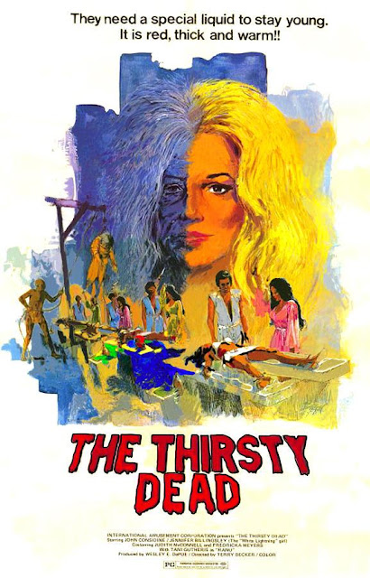 The thirsty dead,Terry Becker, Vampire films, Horror films, Vampire movies, Horror movies, blood movies, Dark movies, Scary movies, Ghost movies