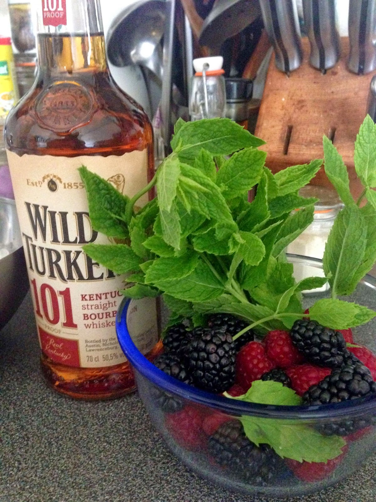 Stitch & Bear - Mixed berry julep - Ingredients