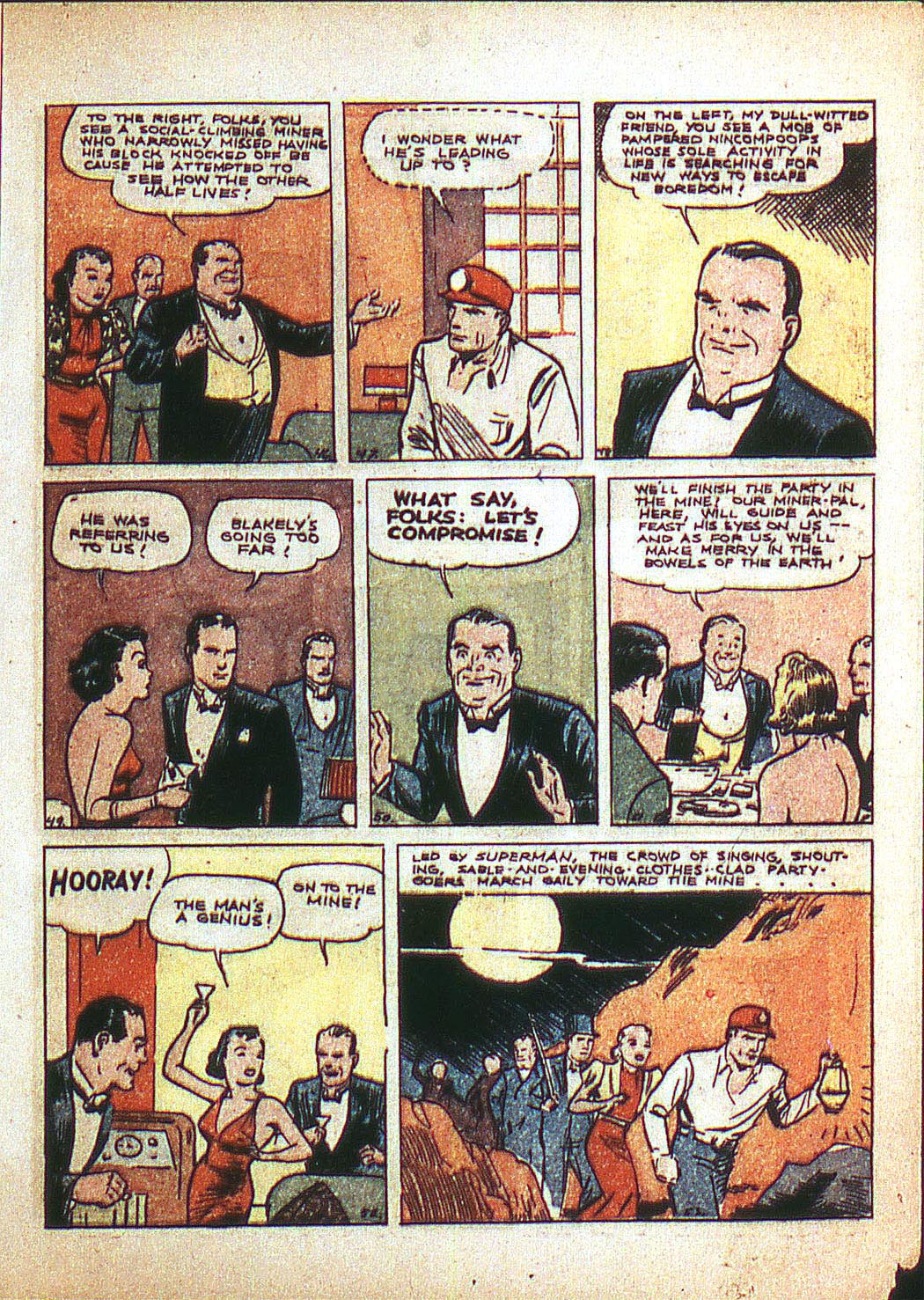 Read online Action Comics (1938) comic -  Issue #3 - 9