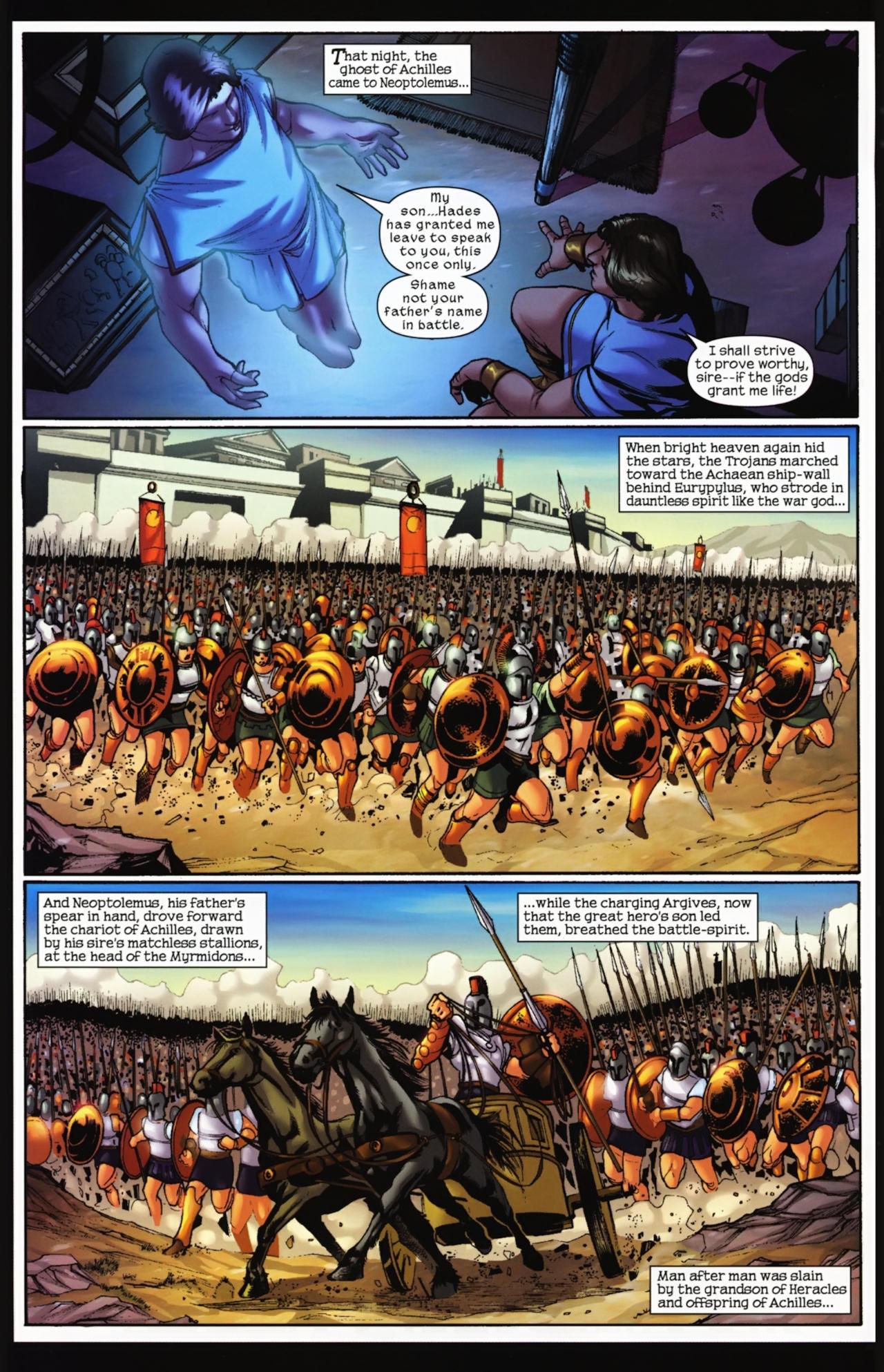 Read online Trojan War comic -  Issue #4 - 21