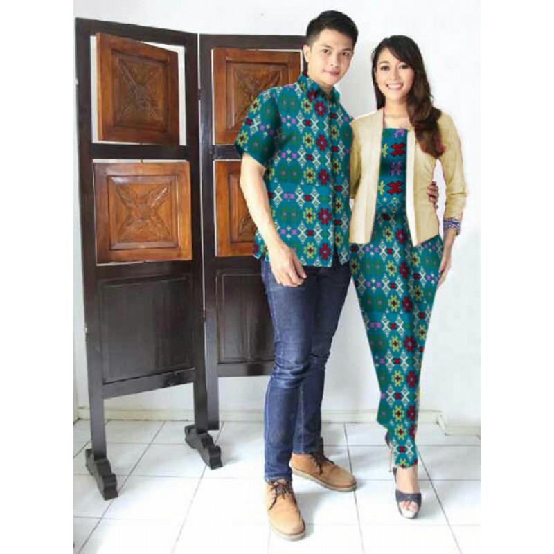 Jual Online Arini Long Tosca Jakarta Bahan Batik Rayon Songket Terbaru