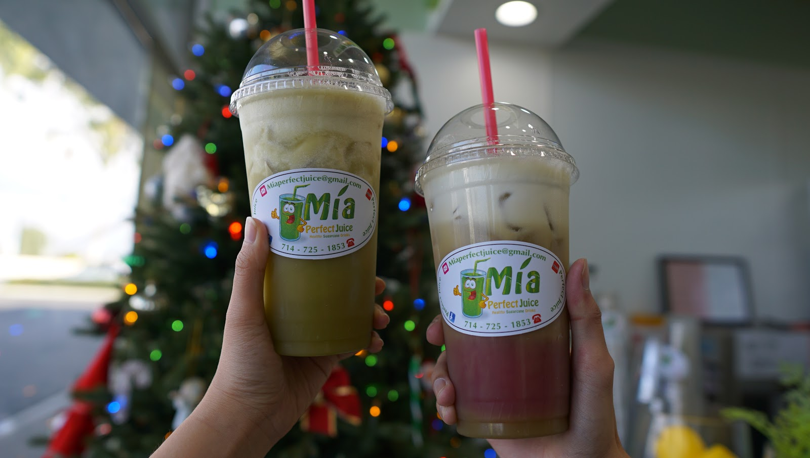 Fresh Sugarcane Juices and Pressed Juices @ Mia Juicery - Fountain Valley