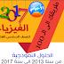 حلول الأسئلة الوزارية للسادس الأحيائي من 2013 الى 2017