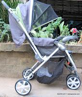BabyDoes  CH275 Parade Three Wheel Baby Stroller