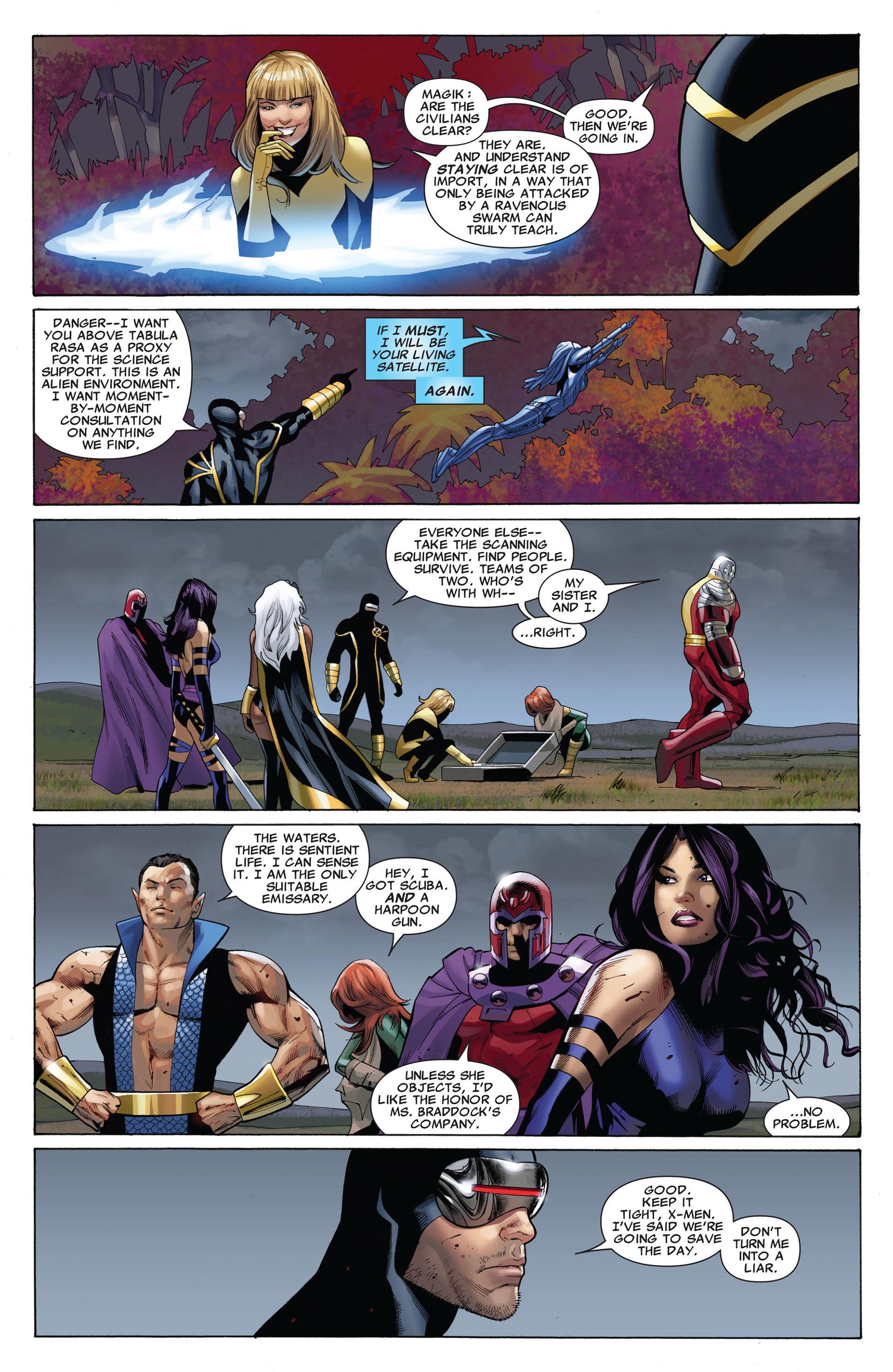 Read online Uncanny X-Men (2012) comic -  Issue #5 - 12