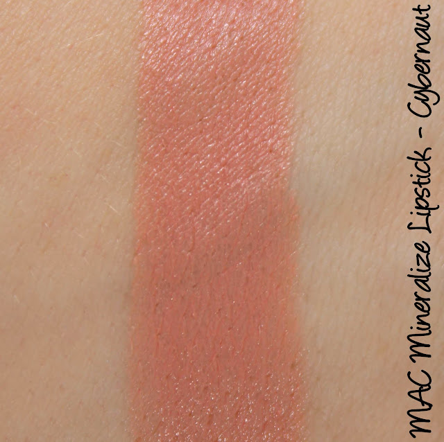 Future MAC - Cybernaut Mineralize Lipstick Swatches & Review