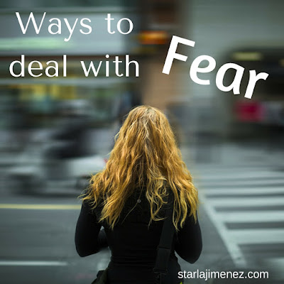 How to handle fear. You do not have to live a fearful life. Fear Scared