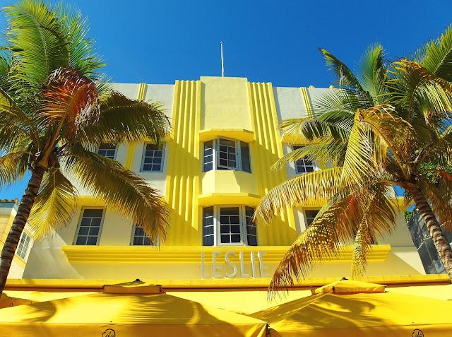 Art Deco hotel in Miami Beach