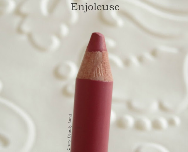 Bourjois Levres Contour Lip Liners Enjoleuse (11) and Rouge Soyeux (20) Review Swatches Price in India