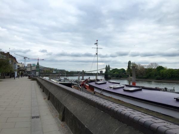 Thames path Hammersmith