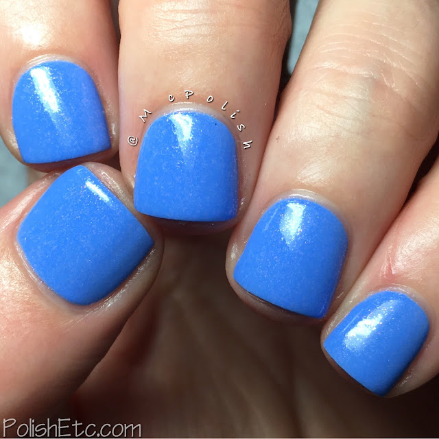 KBShimmer - Summer 2016 Collection - McPolish - Suit the Breeze