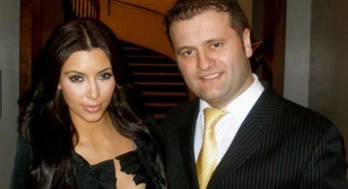Alban Benjamin Prelvukaj and Kim Kardashian