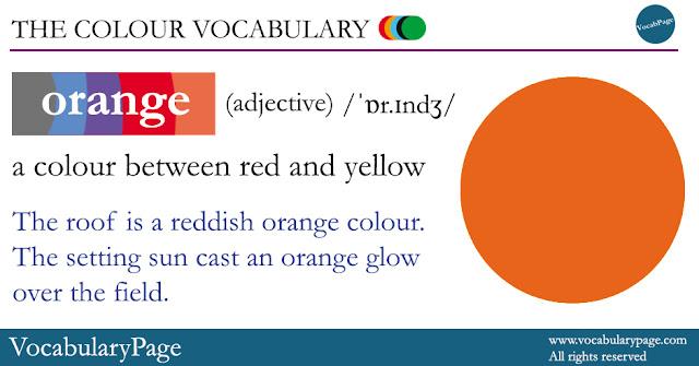 Orange Definition