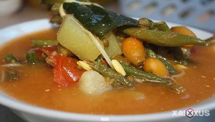 Resep cara membuat sayur asem melinjo