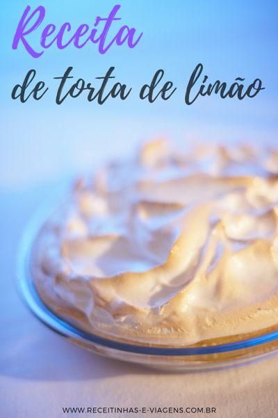 torta de limao receita