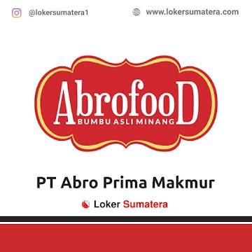 Lowongan Kerja Padang: PT Abro Prima Makmur Juni 2021