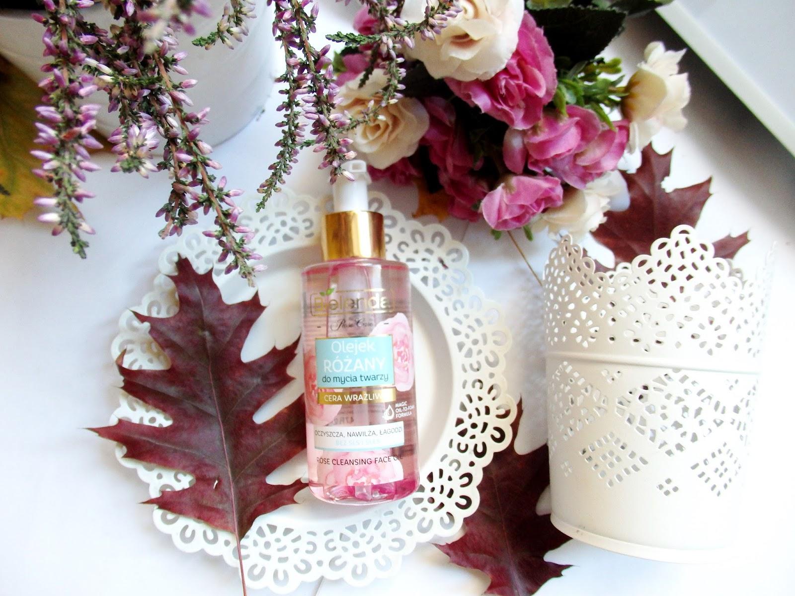 różany olejek myjący Bielenda