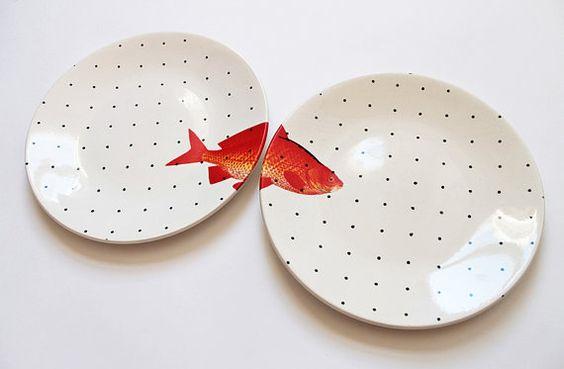 En farklı tabak tasarımları-Çeyiz