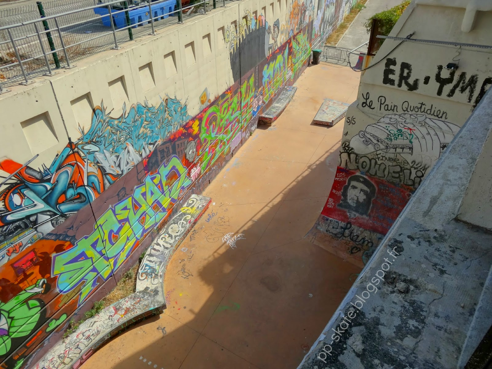 Skatepark marseille la friche
