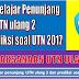 Materi belajar penunjang UTN ulang 2 dan prediksi soal UTN 2017