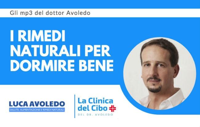 Il dottor Avoledo parla dei rimedi naturali per l'insonnia a Radio 24