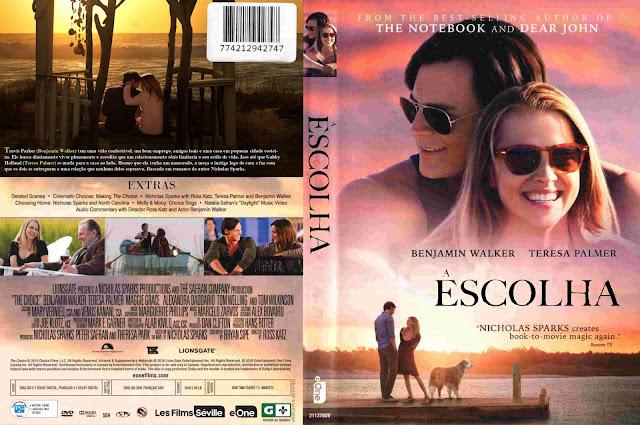 Capa DVD Escolha
